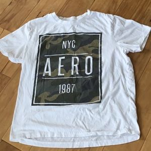 Aeropostale mens graphic t shirt large